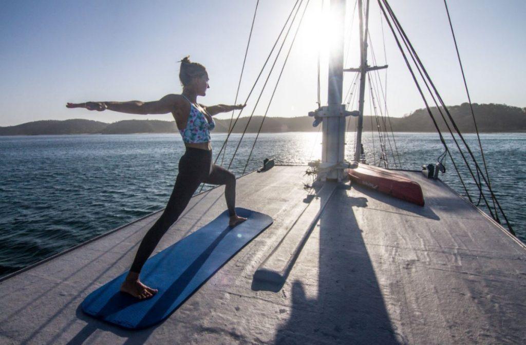 Yoga Retreat on a Royal Fortuna Liveaboard